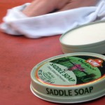 First try: Saddle soap