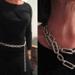 Chain Belt as Necklace