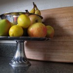 Cake Stand as Fruit Bowl