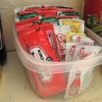 Organize This: Condiment Packets