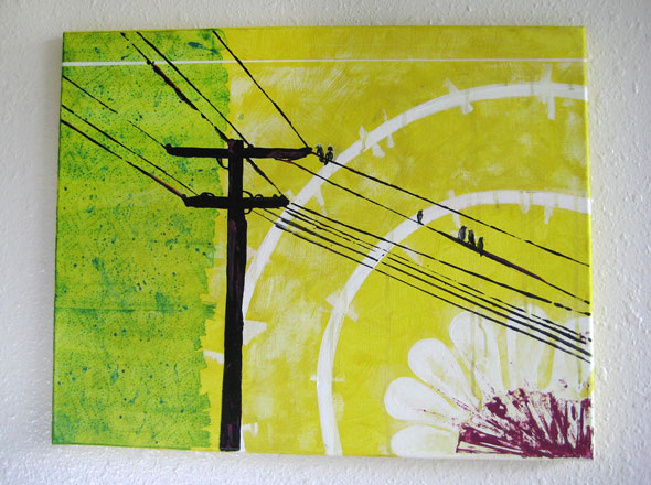 Power Line Painting