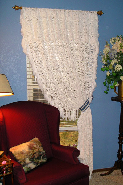 CROCHET WINDOW CURTAIN - Fun Crochet: Learn to Crochet the Fun