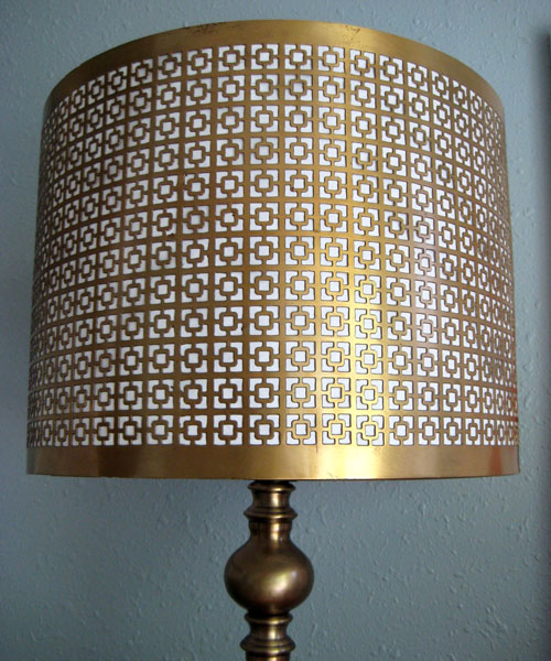 Gold Drum Shade
