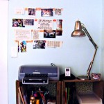 DIY Un-Corkboard Bulletin Board