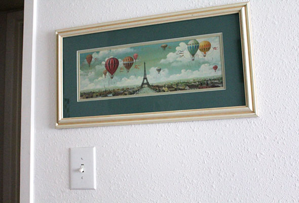 Hot Air Balloon Light switch