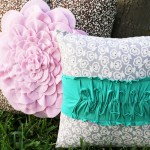 Petal and Tee Pillows