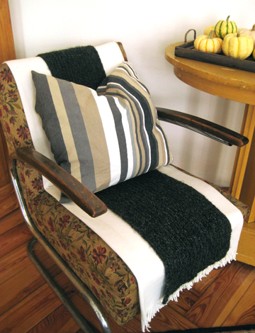 Scarf-Striped Chair