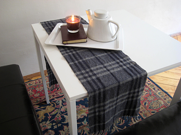 Scarved Side Table