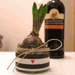 Hostess Gift: Dress Up a Spring Bulb