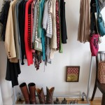 Adding Storage: Clothes rack
